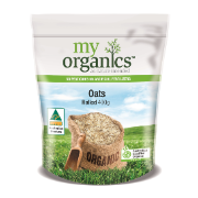 MY ORG OATS ROLLED 400G (6 X 400G)