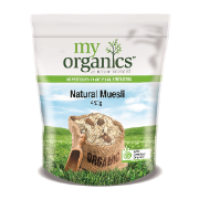 MY ORG MUESLI NATURAL 450G (6 X 450G)