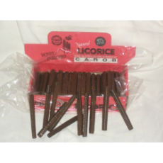 CAROB LICORICE APP. 80pcs * 12 INNERS TO CTN