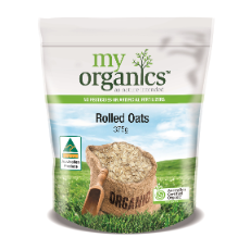 MY ORG OATS ROLLED 375G (6 X 375G)