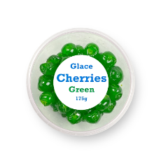 GLACE CHERRIES GREEN  175G (4x175G)