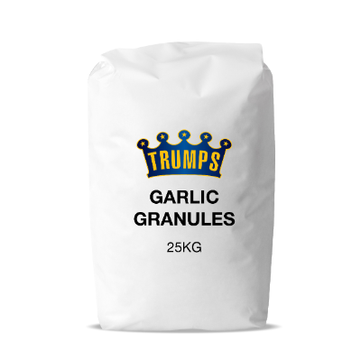 GARLIC GRANULES 10-20 25KG (10/20 OR 8/16 MESH)